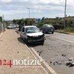 Formia, incidente sull'Appia: tre auto coinvolte, cinque feriti