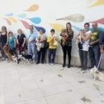 """Fondi, la """"festa"""" dei cani nata dai social"""