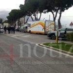 Incidente a Gaeta, moto contro bus a San Carlo