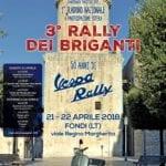 Attese centinaia di Vespe alla terza edizione del 'Rally dei Briganti'