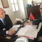 """Castelforte, il sindaco a colloquio con Acqualatina: """"In due anni rifatti circa 4 chilometri di condotta"""""""
