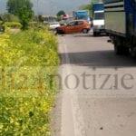 Incidente stradale sulla Fondi-Sperlonga: coinvolte due auto