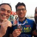 La Poligolfo Formia in gara al 'Triathlon Challenge' di Roma con 4 atleti