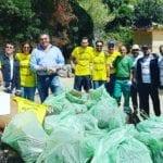 """Gaeta, l'associazione """"Monte Cristo"""" ripulisce l'ultima spiaggia libera di Serapo"""