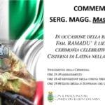 Domenica a Cisterna il memorial per il sergente Massimiliano Ramadù