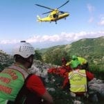 Incidente sui Monti Aurunci, escursionista di Formia in eliambulanza a Latina