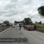 Grave incidente sulla Pontina, interviene l'eliambulanza: strada chiusa