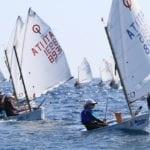 Vela, a Formia la seconda tappa del Trofeo Optimist Italia Kinder+Sport