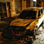 Paura a Pontinia: auto a fuoco nella notte in via Aleardi