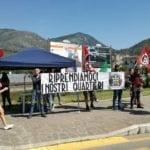 """""""Riprendiamoci i nostri quartieri"""" CasaPound protesta a Fondi"""