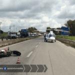 Strada Pontina, riaperta una corsia dopo l'incidente