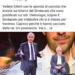 """""""Accattoni, andate a c…re"""": il segretario Cisl si sfoga contro Massimo Giletti e Tito Boeri sui social"""