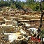 VIDEO – Santuario pagano a Itri, dalle iscrizioni alla statua: le ultime scoperte