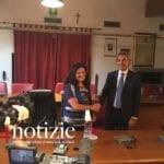 VIDEO – Formia, l'insediamento del sindaco Paola Villa: le prime parole