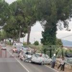 Sezze, schianto sull'Appia: scontro tra due auto