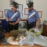 Hashish e marijuana a chili, arrestato un 30enne