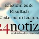Elezioni a Cisterna, Carturan per un soffio: 50,01%
