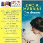 """Dacia Maraini a Sabaudia per la presentazione di """"Tre donne"""""""