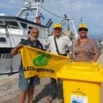 Recupero della plastica in mare: il progetto 'Fishing for litter' di Legambiente