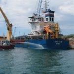 Porto di Gaeta, incendio a bordo: è un'esercitazione