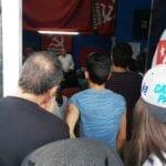 Marco Rizzo riempie la sezione del Partito Comunista a Latina