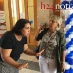 VIDEO – Lo scontro tra l'assessora e mamma Di Silvio dopo lo sgombero