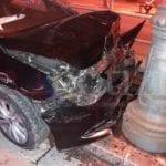 Gaeta, incidente notturno nei pressi delle Poste