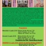 Itri, festa di Santa Maria Goretti nella chiesa dei padri Passionisti