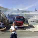 Gaeta, a fuoco una serra in zona Vignole – VIDEO