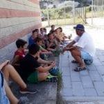 Ponza, grande partecipazione al Camp estivo di basket