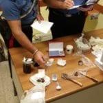 Market della droga in casa, 40enne arrestato a Pontinia
