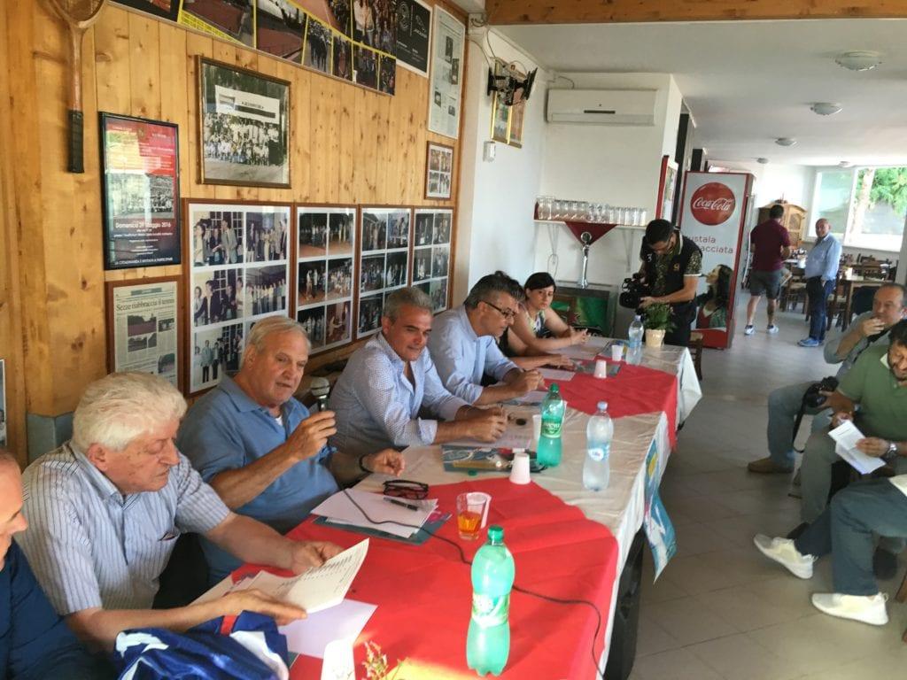 conf stampa torneo internazionale tennis Sezze