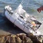 """In barca dalla Svezia, affonda a Rio Martino. La """"mitica"""" disavventura di una navigatrice"""