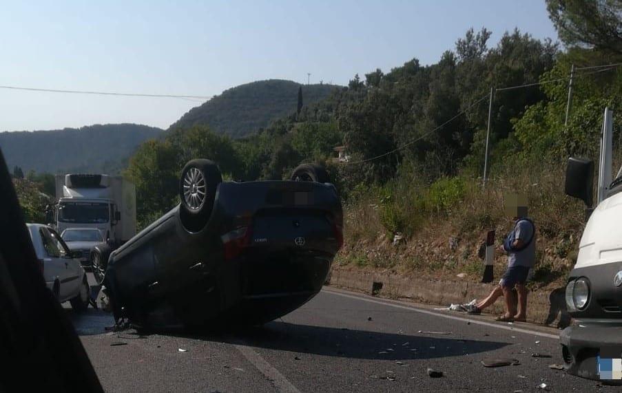 Itri Incidente Appia 30 Luglio 2018 H24 Notizie Portale