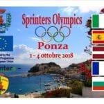 Ponza Sprinters Olympics, sull'isola le Olimpiadi dei giovani Erasmus