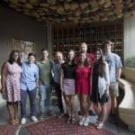 Gli studenti della South Carolina visitano le aziende di Latina