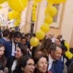 Il deputato Trano (M5S) in piazza per dire addio ai vitalizi