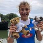 Mondiali di canottaggio under 23: Clara Guerra è medaglia di bronzo