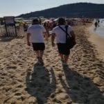 Serapo, continua l'attività di contrasto alla preventiva abusiva occupazione della spiaggia