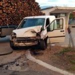 Grave incidente tra un camion e un furgone, Appia in tilt