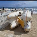 Sperlonga: gestore di un lido occupa la spiaggia libera con i pedalò e viene multato