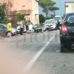 Incidente sull'Appia dopo Terracina, coinvolto uno scooter