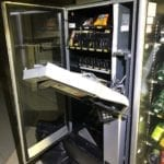 Distributore automatico depredato, denunciati due ciociari