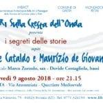 Incontro a Gaeta con gli scrittori Giancarlo De Cataldo e Maurizio de Giovanni