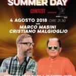 Summer day Contest, sabato a Fondi Masini e Malgioglio