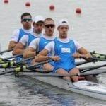 Canottaggio, il quattro di coppia azzurro è campione d'Europa