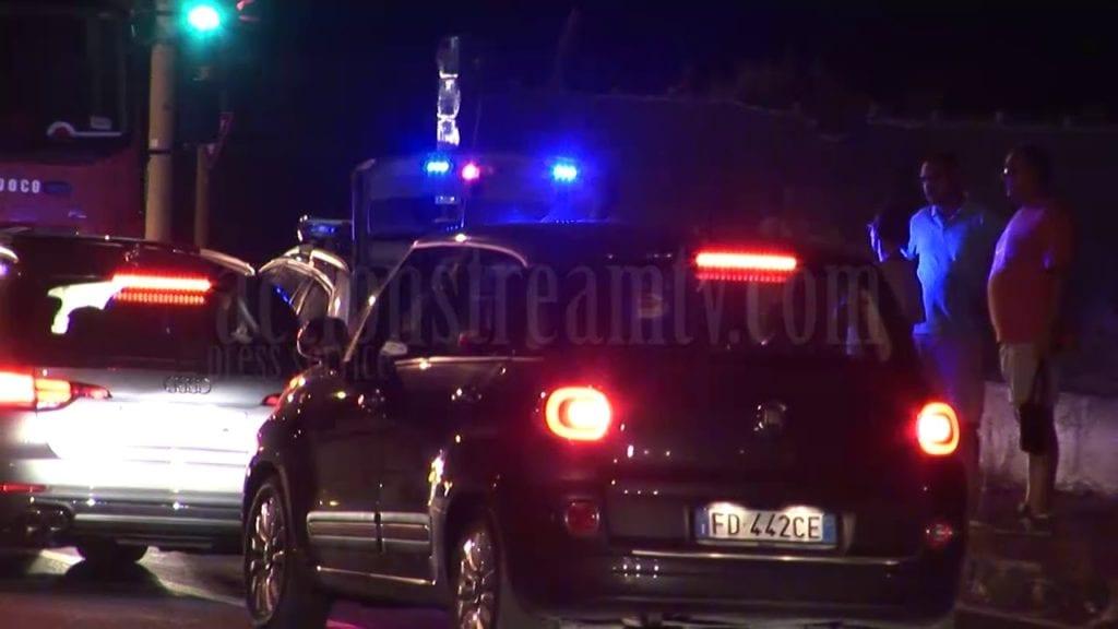 Sperlonga: si ribalta un'auto dopo un terribile schianto a Lago Lungo (#VIDEO)