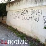 """""""Cusani boia"""": dopo la Tiberio 2, scritta minatoria contro il sindaco"""