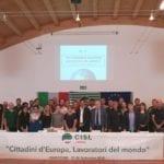Cisl di Latina, a Ventotene la terza giornata del Workshop sull'Europa
