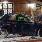 Cisterna di Latina, perde il controllo dell'auto e piomba in un bar: grave una 28enne